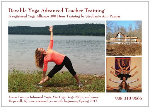 300 Hour Yoga Training Postcard
